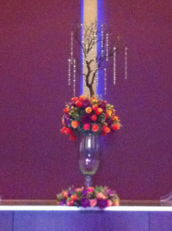 Tall Wedding Arrangement