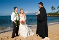 Hawiian Beach Wedding