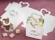 Personalized Wedding Favor Candy Boxes