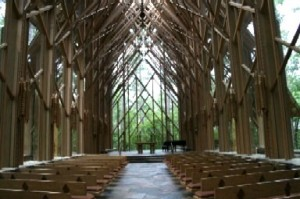 Anthony Chapel At Garvan Woodland Gardens