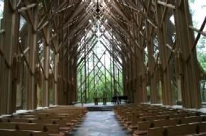 Anthony Chapel at Garvan Woodland Gardens