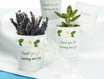 Garden Theme Wedding Favor