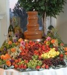 Chocolate Fountain for Quinceanera