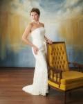 Column Wedding Gown