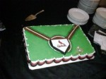 Sports Team Grooms Cake