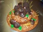 Horse Poop Grooms Cake