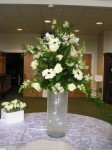 Lighted Vase Centerpiece