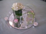 Mirror Underneath Centerpiece