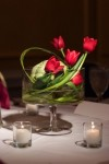Elegant Contemporary Tulip Centerpiece