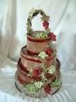 Harvest Basket Wedding Cake