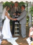 Exchanging Personalized Wedding Vows