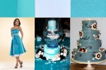 Shades of Blue Wedding Accents