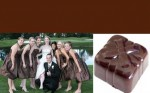 Chocolate Brown Wedding Accents