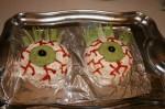 Halloween Party Eyeball Cheese Balls