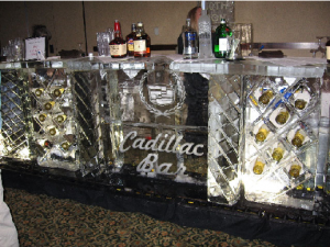 Custom Ice Bar for Cadillac