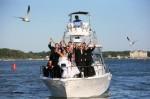 Fun Yacht Wedding Reception