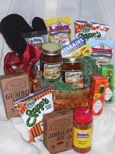 Cajun Flavor Gift Basket