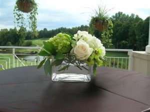 Golf Course Reception Flowers