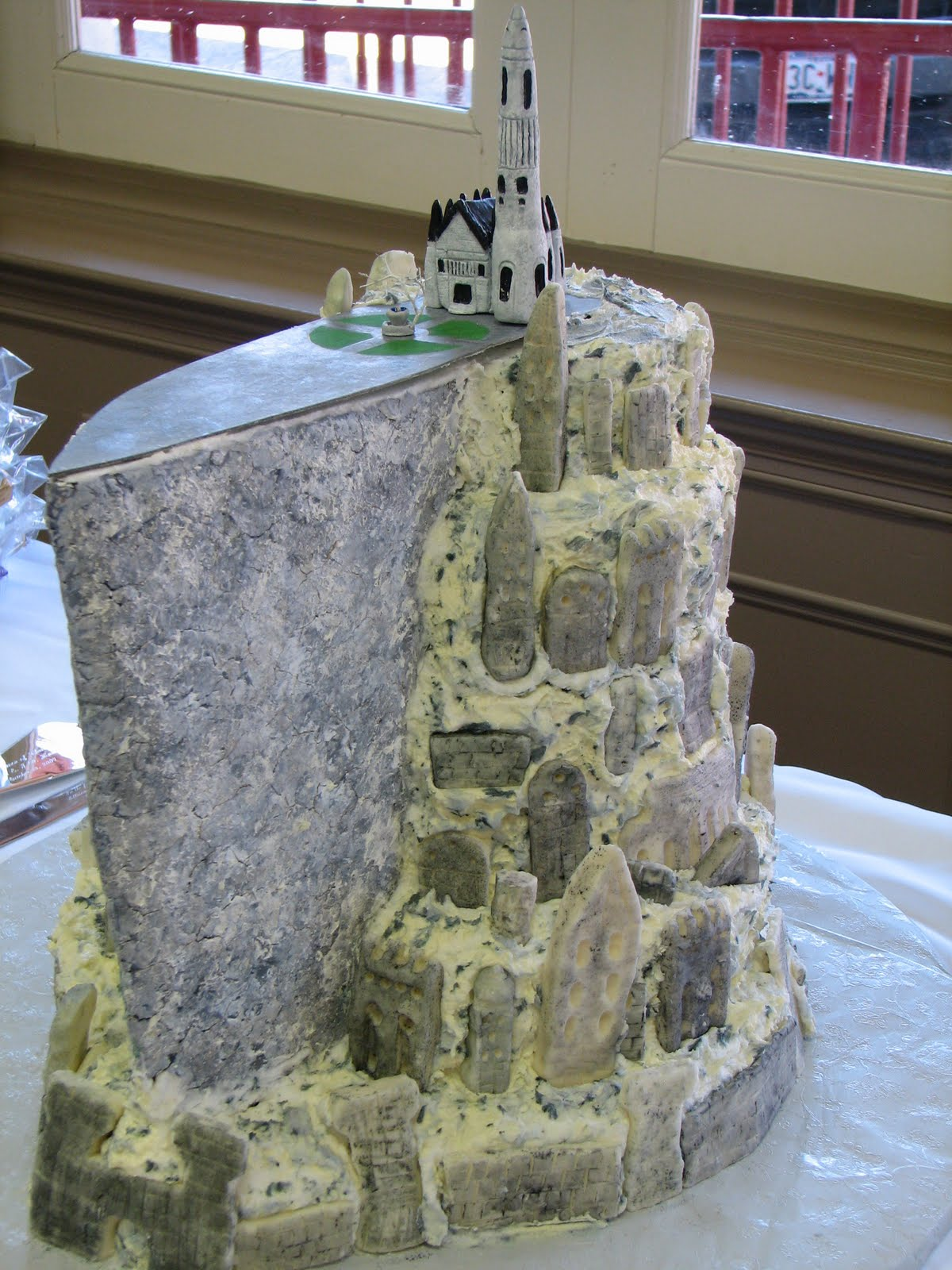 lord of the rings themed wedding cakes quot lord of the rings quot cake 16936