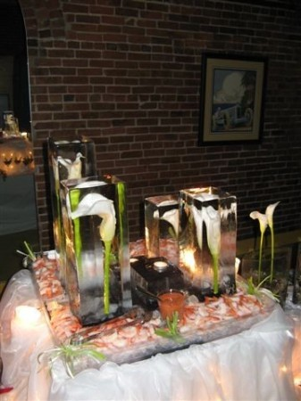 Beauty Style Calla Lily Ice Sculptures Celebration Advisor