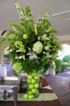 Bright Green Wedding Flowers