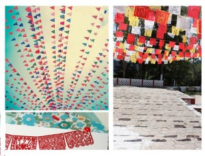 papel picado mexican wedding flags add a festive touch to any party