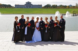 Wedding Party at the Basin