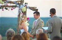 Beautiful Wedding Ceremony Portrait