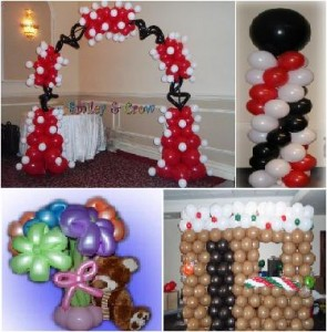 Wedding Arch Decorations on Smiley   Crow Balloons  Unique Decorations That Ll Make Any Party Fun