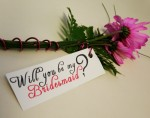 Bridesmaid Flower