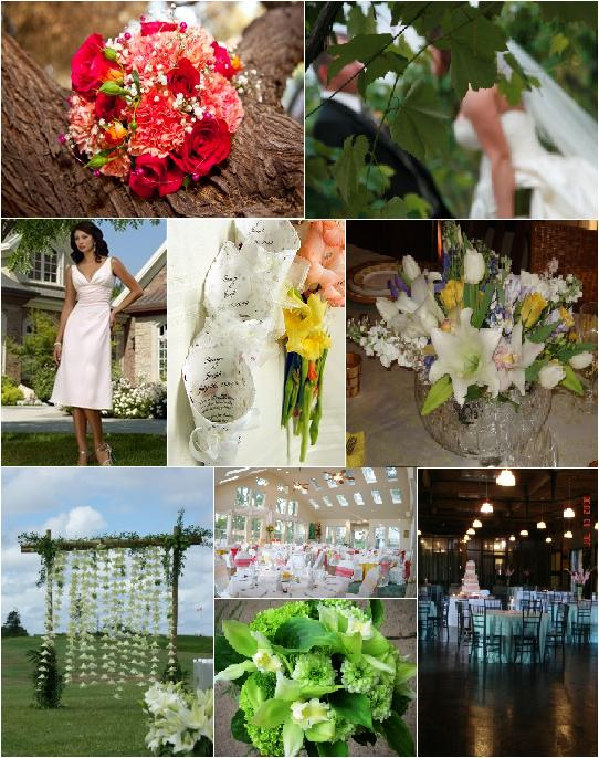 Beautiful pastels outdoor weddings and the beautiful weather outdoors has