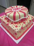 Samantha's Shower Cake