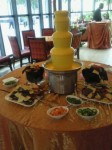 Nacho Cheese Fountain