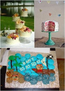 Fun Cake Displays