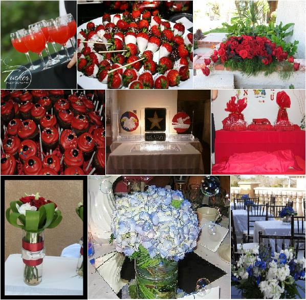 Red And White Wedding Reception Ideas. Create red, white