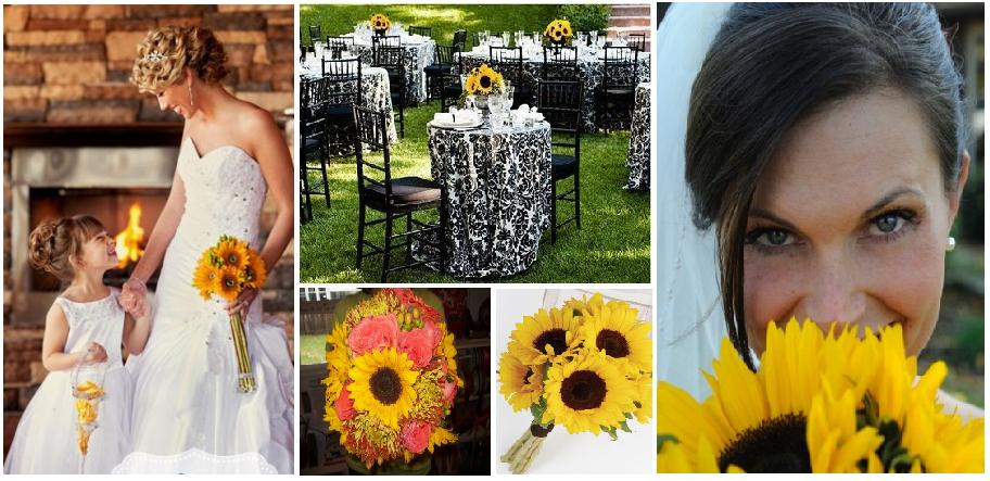 These fabulous wedding flowers are perfect for your happy fall wedding