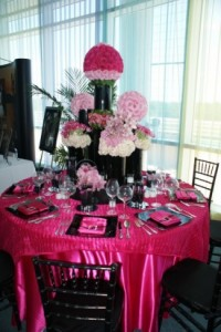Pink Party Decoration & A Pink Party for Breast Cancer Awareness