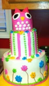 Owl Party Cake