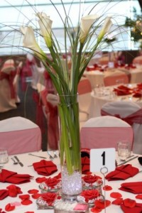 Calla Reception Centerpiece