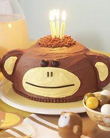 Monkey Party Cake