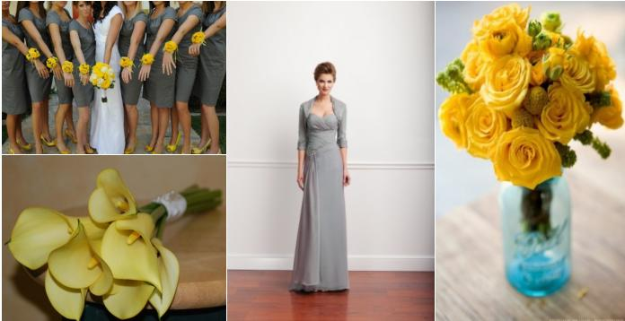 Stunning teal and yellow wedding colors images styles ideas 2018 emanuela s blog turquoise yellow gray wedding ruffle mightylinksfo