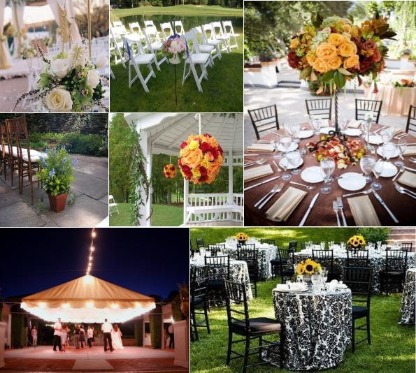 Outdoor Decor | Celebration Advisor - Wedding and Party Network Blog
