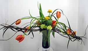 unique floral design