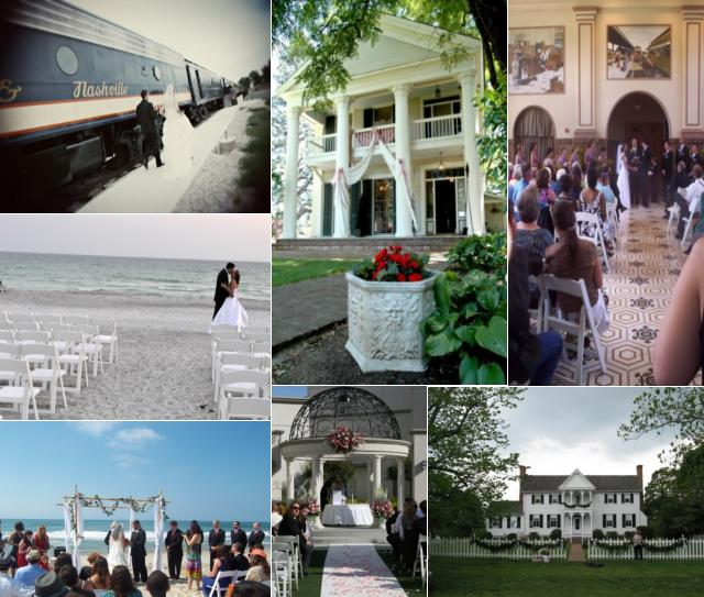 Whether you choose an indoor location outdoor wedding venue