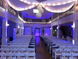 Gorgeous Wedding Ceremony Lighting