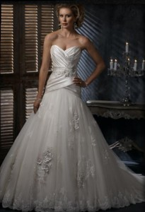 Sweetheart Style Wedding Dress