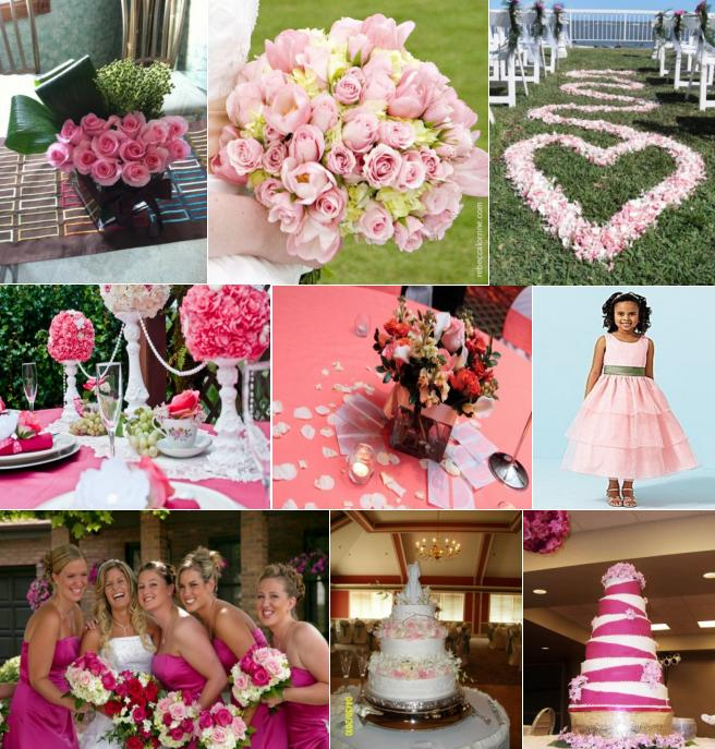 Wedding trends tagged with wedding colors celebration advisor inspirational friday pink junglespirit Images