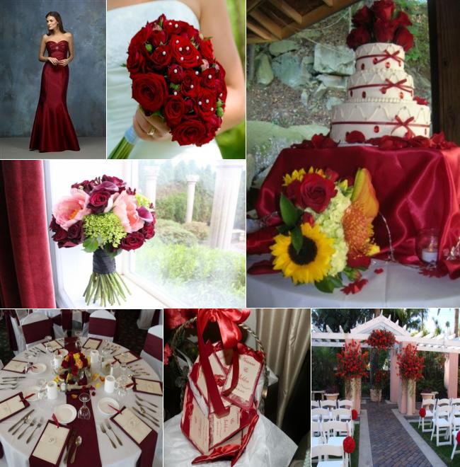 Wedding trends tagged with wedding colors celebration advisor inspirational friday red junglespirit Images