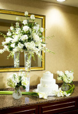 White Event Arrangement