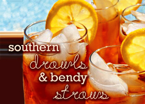Southern Drawls & Bendy Straws